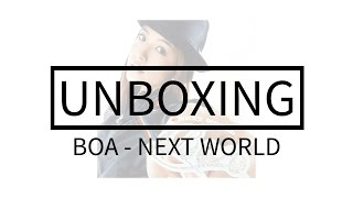 BoA - Next World Album Unboxing