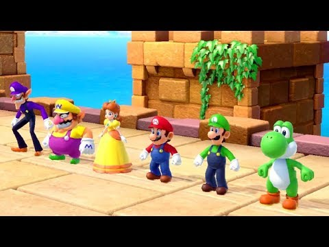 Super Mario Party - All Wacky Minigames