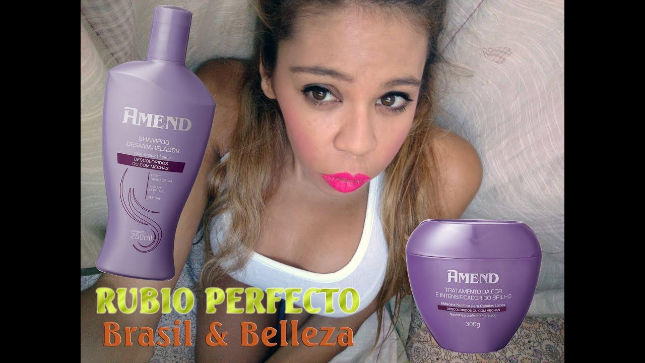 Mantener rubio perfecto en casa brasil belleza youtube - Rubio platino en casa ...