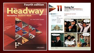 (Update) New Headway Elementary Student's Book 4th :Unit.11 -Going far