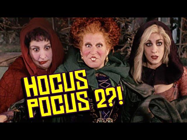 Disney MIGHT Make \'Hocus Pocus 2\' with ORIGINAL Cast After All?!