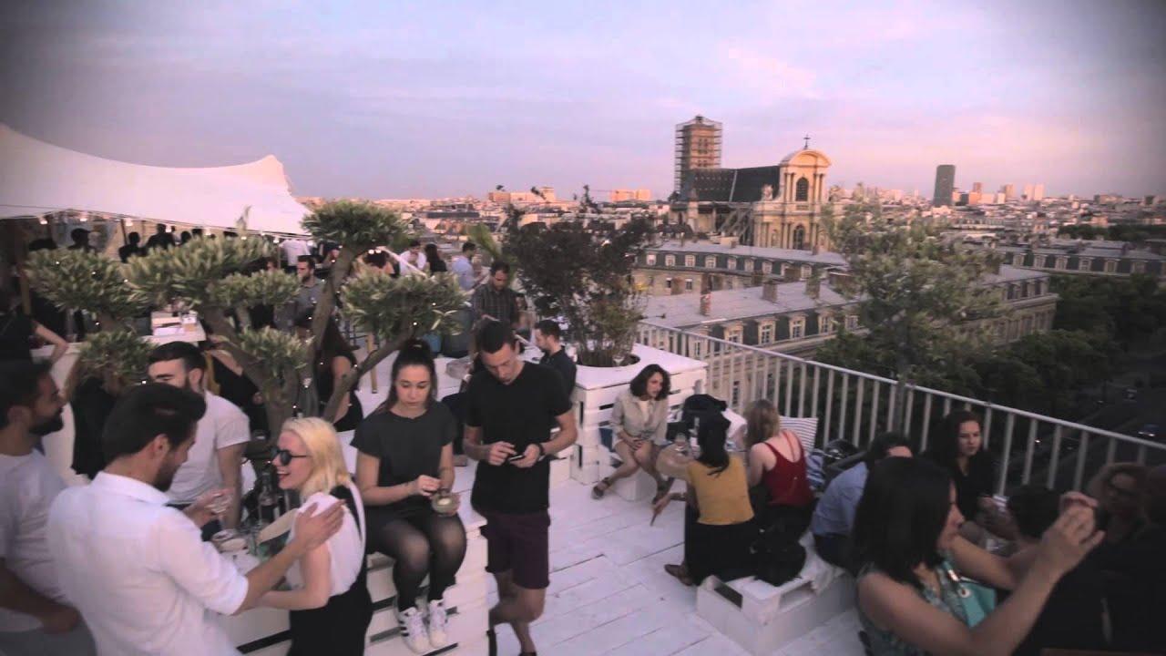 le perchoir marais le rooftop du bhv marais youtube. Black Bedroom Furniture Sets. Home Design Ideas