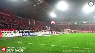 Hej Widzew gol! | Doping Widzewa | Widzew Łódź - Stal Stalowa Wola, 01.12.2018