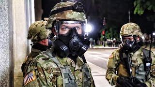 North Carolina National Guard Deployed To Raleigh 5-31-2020
