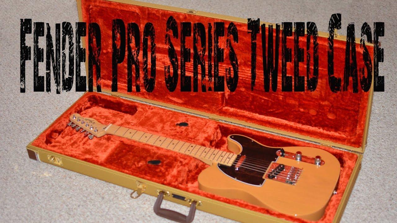 NEW Fender Pro Series Strat Tele Tweed HARDSHELL CASE Stratocaster Telecaster