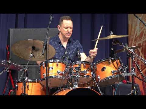 London Drum Show Jimmy Chamberlain
