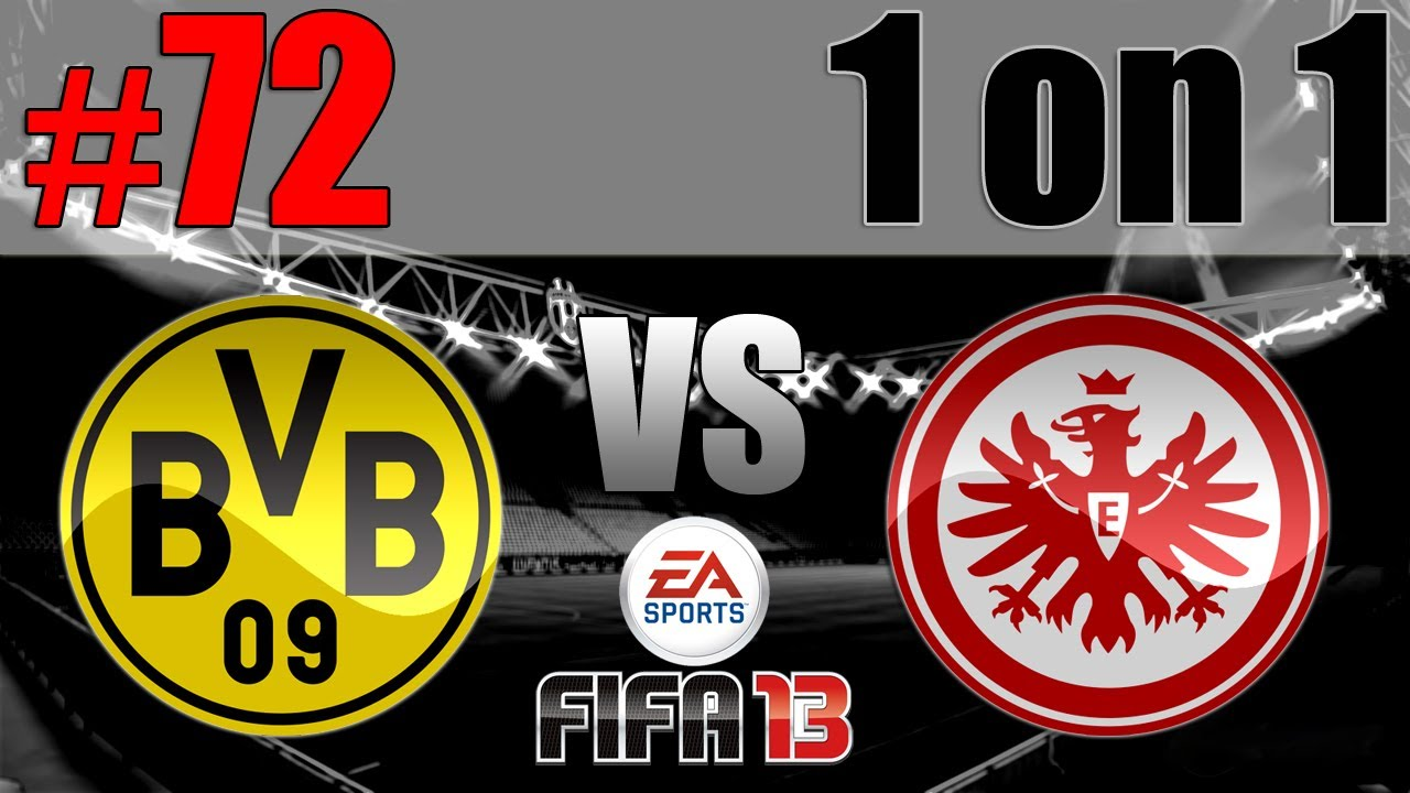 Let S Play Together Fifa 13 1 On 1 72 Borussia