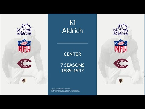 Ki Aldrich: Football Center and Linebacker
