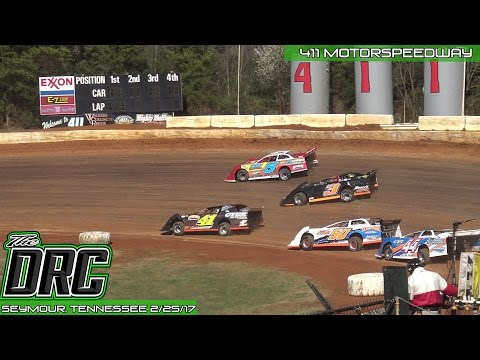 411 Motor Speedway   2.25.17   Frostbuster   Crate Late Model   B-Main 2