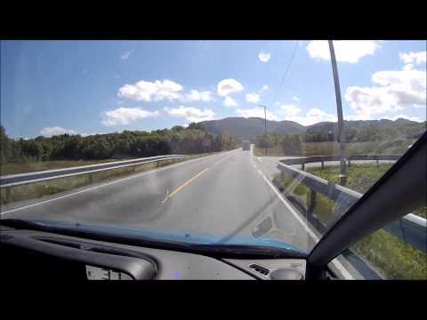 Atlantic Road Norway Summer 2014