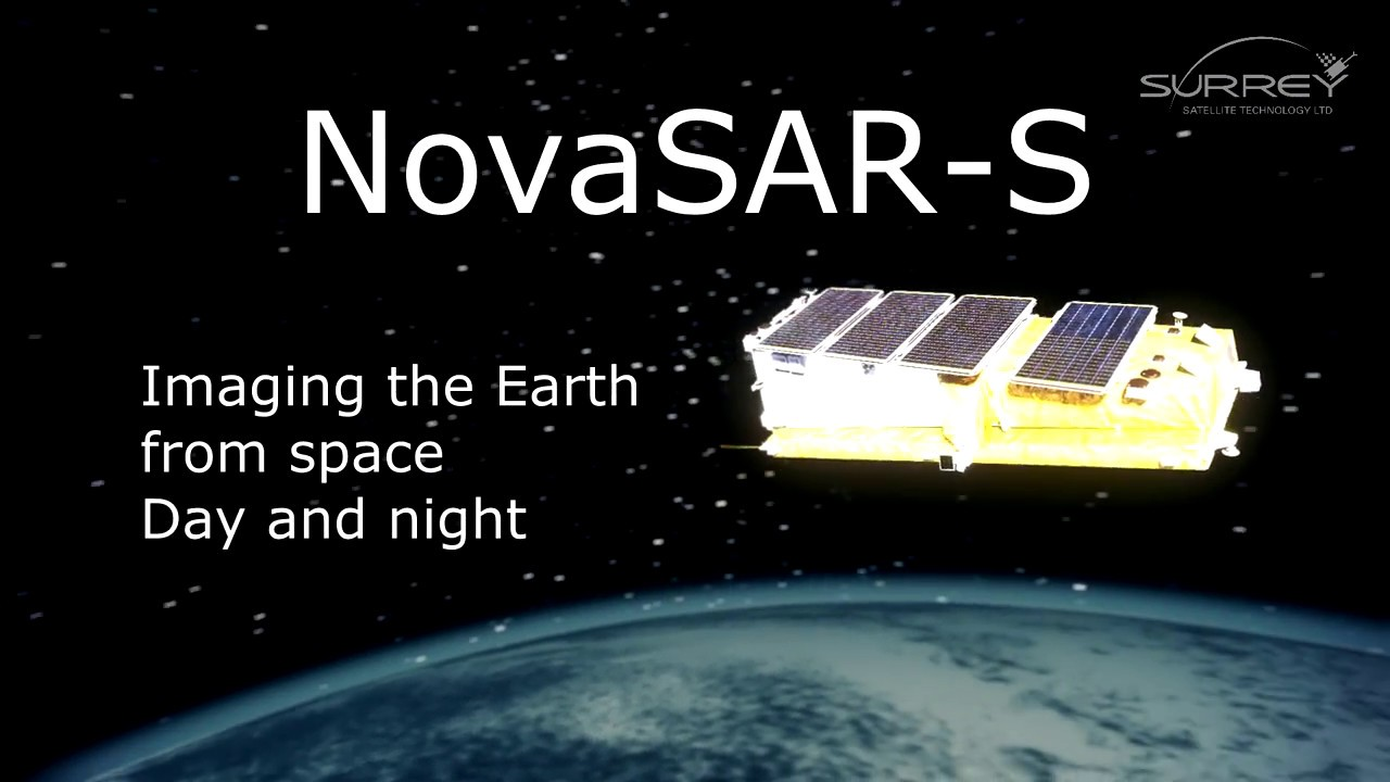 NovaSAR-S animation