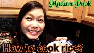 How to cook perfect Jasmine rice. Cook rice on stove top. Cook rice without rice cooker.