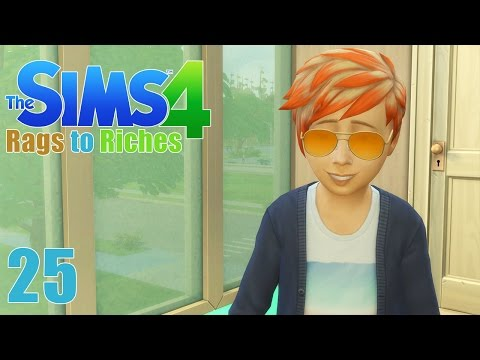 NEW STYLE! - Sims 4 - The Sims 4 Rags to Riches Ep.25