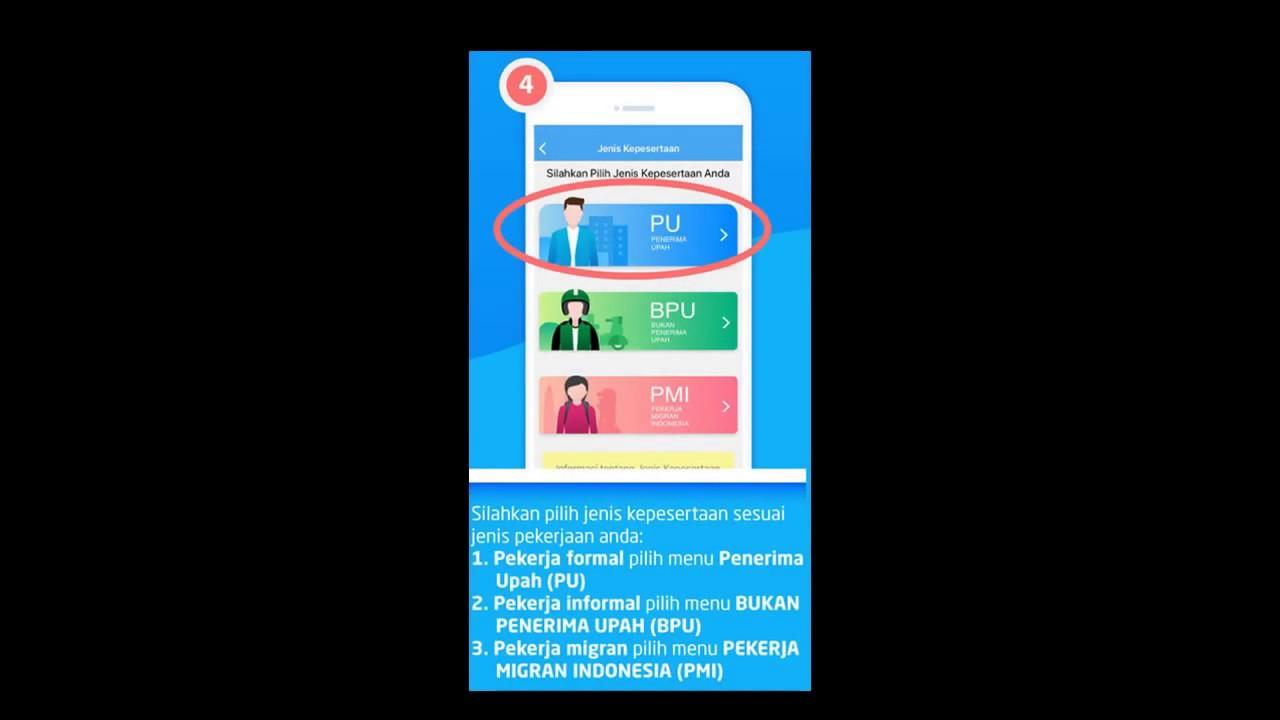 Daftar Aplikasi BPJSTK Di Handphone