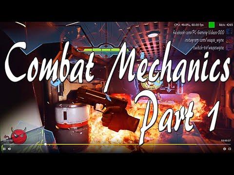 Game Combat Mechanics 1 | A-Tech Cybernetic VR |