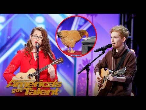 Wacky, Inspiring, And Hilarious Talent Only on AGT! - America's Got Talent