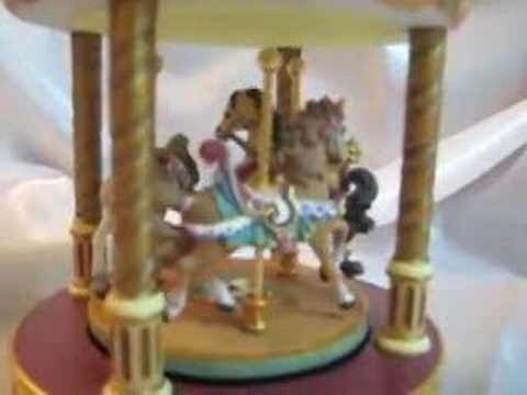 Carousel Ride Merry-go-round Water Globe