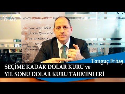Seçime Kadar ve 2019 Yıl Sonu Dolar Kuru Tahminleri, Tonguç Erbaş