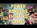Power Rangers Fighting Games