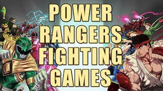 Power Rangers Fighting Games