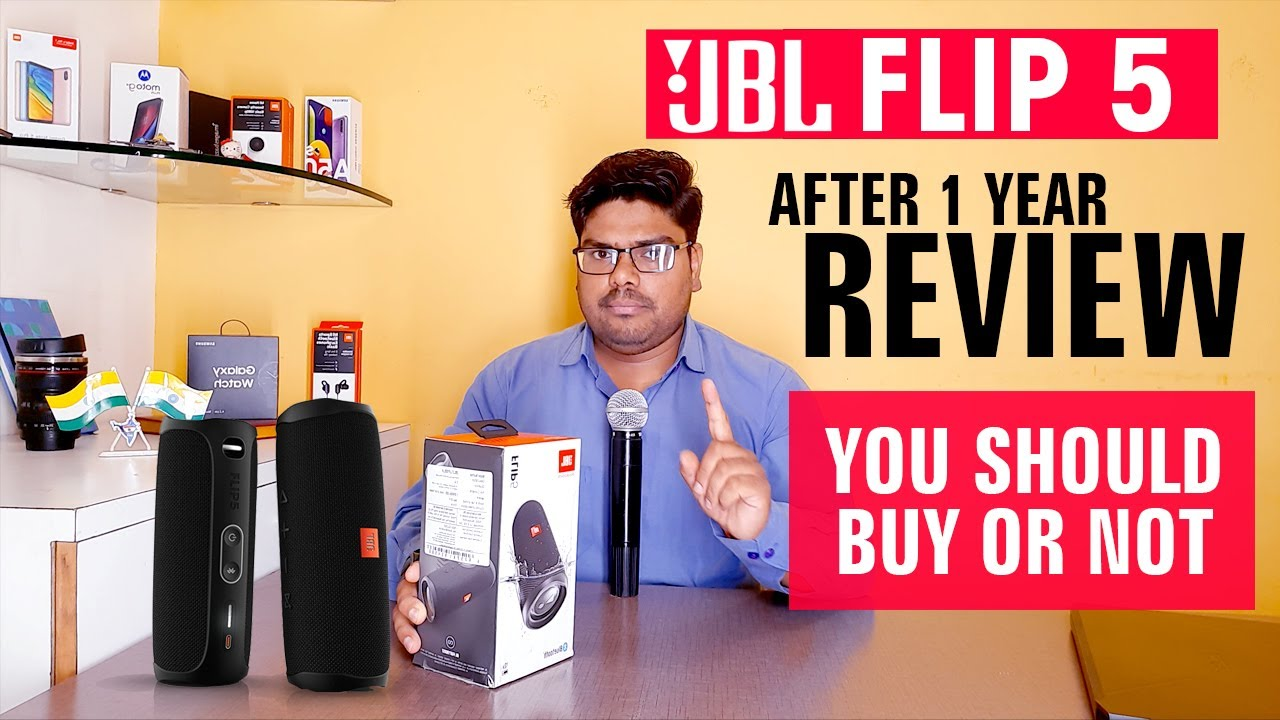 JBL FLIP 5 Bluetooth Speaker | After 1 year Unboxing & Review - Hindi | JBL Flip 5 unboxing