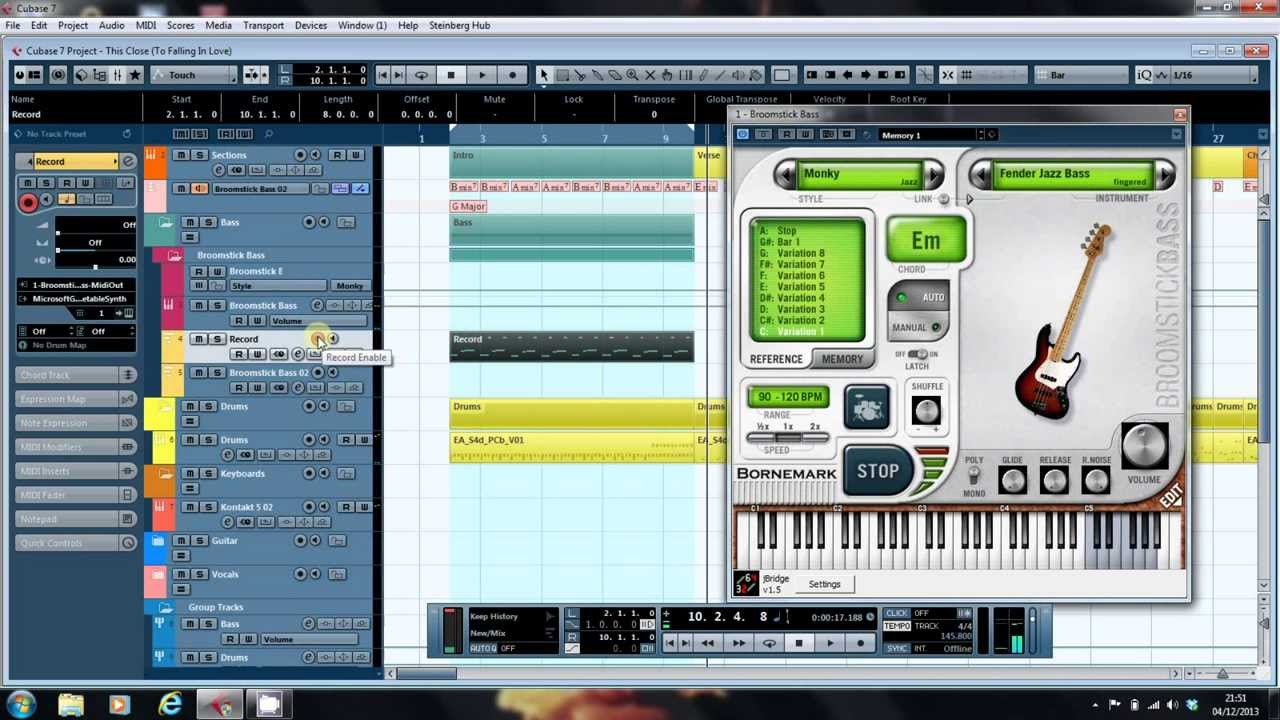 Recording MIDI Output from VST Instruments