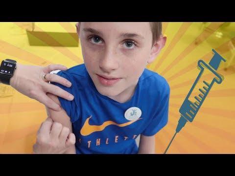 Getting Shots for Junior High          (family vlog)