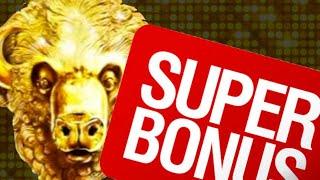 Super Free Games On BUFFALO GOLD Brings A Massive Win!