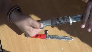 Штык-нож к немецкой винтовке Mauser 98. Не обзор, просто хвастаюсь )))
