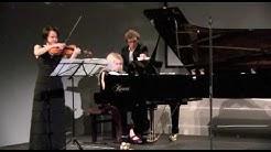 Réka Szilvay, violin & Heini Kärkkäinen, piano – Prokofjew Cinderella Suite