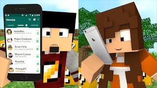Minecraft: ESCADONA - MENSAGEM DA MAMÃE ‹ AMENIC ›