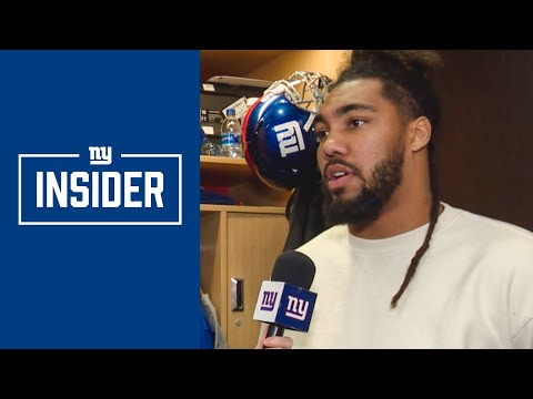 Giants DL Leonard Williams Discusses His Improvements This Season