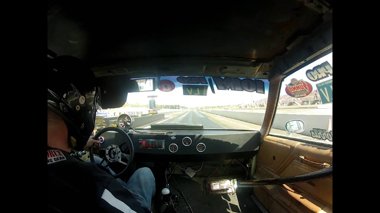 chuck morris drag racing wheelie interior view youtube. Black Bedroom Furniture Sets. Home Design Ideas