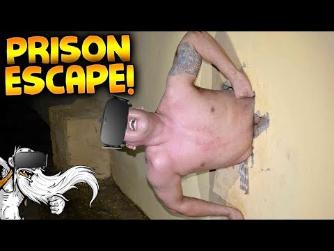 "Prison Boss VR Gameplay - ""NO PRISON CAN HOLD GENERIKB!!!"" Virtual Reality Let's Play"