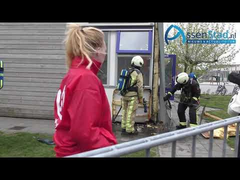 brand gebouw kinderdagverblijf Assen