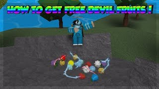 HOW TO GET FREE DEVIL FRUITS EVERYDAY! *DFS AND BELI*   Steve's One Piece   Roblox