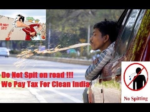 Clean And Green India | Do Not Spit on road | Clean India | Tax | Challan | SEO | Observations