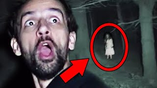 10 Scary Ghost Videos OR Are You A BIG BABY ?