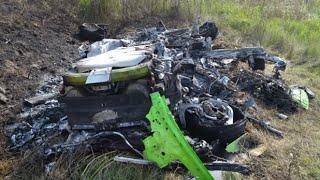Lamborghini Huracan разбились на скорости 330км/ч