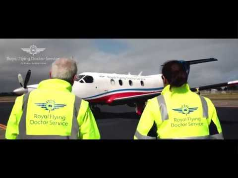 RFDS Join the Team - Pilots - Heather and Matthew