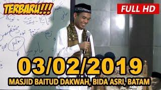 Ceramah Terbaru Ustadz Abdul Somad Lc, MA - Masjid Baitud Dakwah, Batam