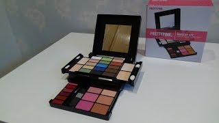 Pretty Pink Travel Cosmetic Make Up Set from Argos