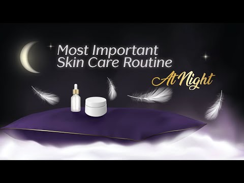Night Time Skincare Routine   Beauty Tips For Healthy Amp Glowing Skin