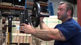 Bodybuilder Lee Priest Talks about Training Legs with Tom Platz