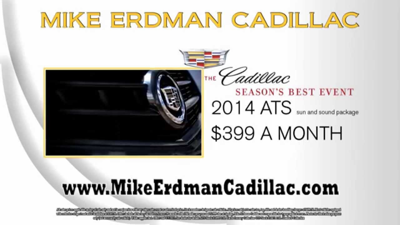 Mike Erdman Cadillac Seasons Best Offers Youtube
