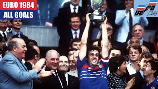 UEFA Euro 1984 in France All Goals