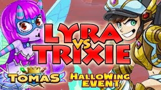 EVERWING TRIXIE VS LYRA WHO IS BETTER TO USE - NEW OP CHAMPION ? TOMASEVERWING