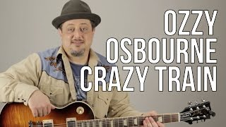 Crazy Train Guitar Lesson Ozzy Osbourne - Opening Riff - How to Play on Guitar.mp3