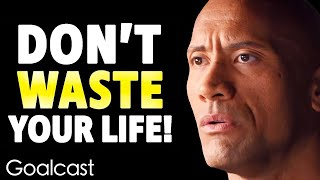 I was broke, depressed and lost: Dwayne The Rock Johnsons Tale of Survival | Goalcast Speech YouTube Videos