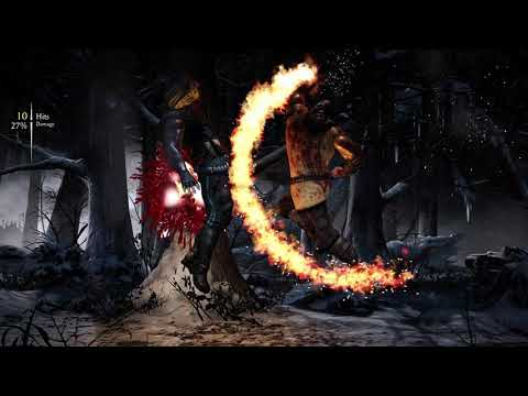 Mortal Kombat X(4K) Kold War Scorpion Vs Tundra Sub-Zero-Epic Battle  